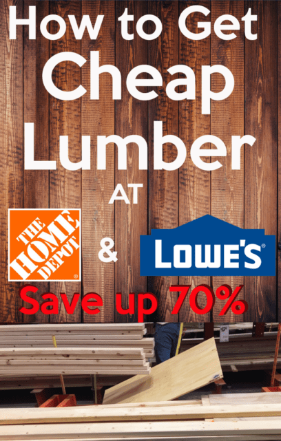 Cheap lumber