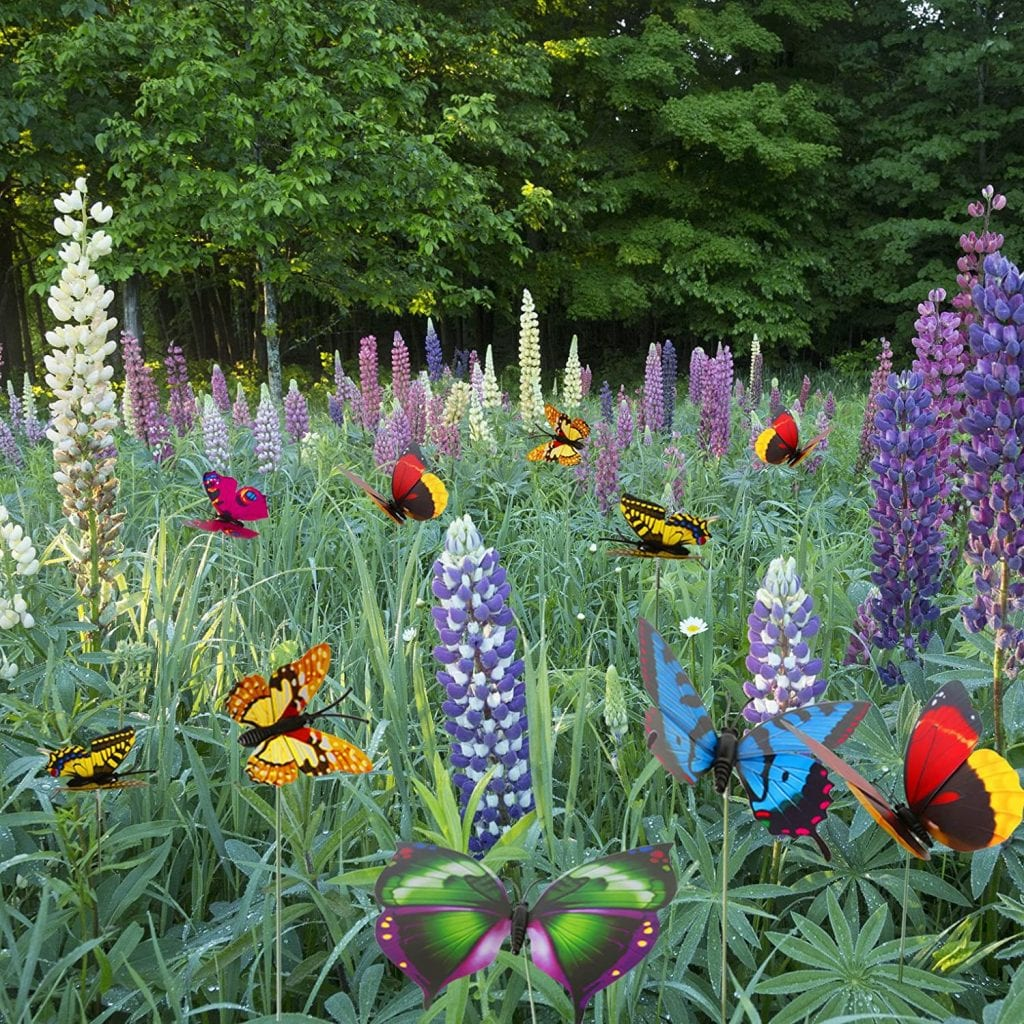 Butterfly-Stakes outdoor decor